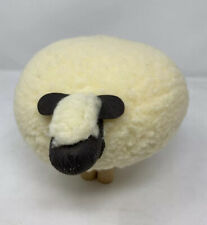 More details for wool sheep department 56 1983 le mouton wood dowel legs