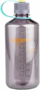 Nalgene Sustain Water Bottle - 32oz, Narrow Mouth, Aubergine