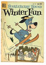 Huckleberry Hound Winter Fun (4-Color #1056), Dell 1959 VG