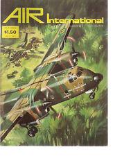 AIR INTERNATIONAL British Magazine August 1976 DHC-5D Buffalo cover