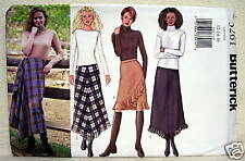 Butterick Misses' Skirt Pattern 12-14 - 16 #3261 Uncut