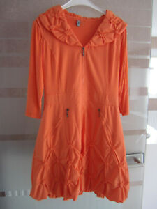 GLAMZ - Kleid - Größe 40 2 teilig tolles orange