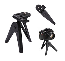 Fold Flat Tripod for Fujifilm Camera DSLR SLR Heavy Duty Mount Stand Holder 1/4