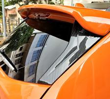 ABS Rear Window Strip Protection Trim 2pcs For Subaru XV Crosstrek 2012-2017