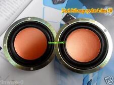 "2pcs 3"" inch 4Ohm 4Ω 5W Full-range speaker Loudspeaker HiFi Audio for Bluetooth"