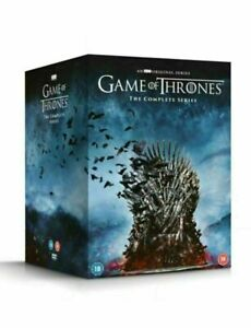 Game Of Thrones - Complete Seasons 1-8 DVD Film Collection Boxset - Region 2-New