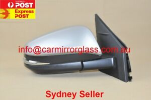 NEW DOOR MIRROR FOR TOYOTA RAV4 2013 - 2018 RIGHT SIDE  (SILVER, ELECTRIC)