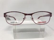 07f7512563f New Converse Kids Eyeglasses Burgundy K014 47-15-130 Red C795