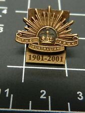 Rising Sun: 100 Years Service to the Nation ARMY 1901-2011 lapel badge