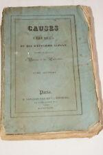 CAUSES CELEBRES T3 BRUNEAU LOUIS XVII KOSTOLO MAUBREUIL 1828