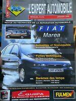 REVUE TECHNIQUE L'EXPERT AUTOMOBILE N° 370 FIAT MAREA / ESSENCE 1.6 16V / 1.8 16