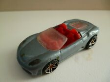 Ferrari F430 Spider - Grey - Mattel - Hot Wheels - China