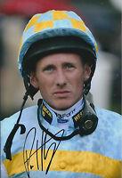 Paul HANAGAN SIGNED Autograph Photo AFTAL COA Champion Jockey AUTHENTIC