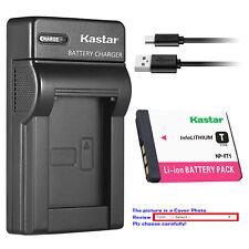 Kastar Battery Slim Charger for Sony NP-FT1 & Sony Cyber-shot DSC-T5/N Camera