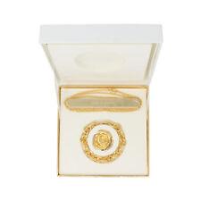 Aerin Rose De Grasse Solid Perfume Charm Bracelet & Necklace Compact Gift Set