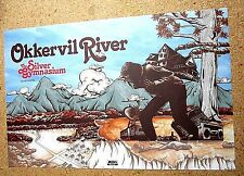 Okkervil River 2013 two-sided Promo Poster The Silver Gymnasium