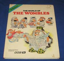 Vintage BBC Television 'The World of the Wombles' M & S 1976