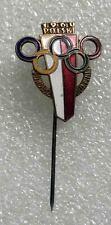 olympic pin NOC POLAND 1960 generic enamel old very rare