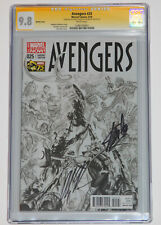 AVENGERS #25 LIMITED 1:200 CGC SS 2X STAN LEE & ROSS Sketch Cover Variant RARE
