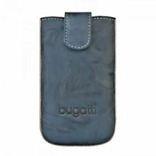 Bugatti Universal Handy Leder Tasche Hülle Cover  mit Easy Out Unique Jeans SL