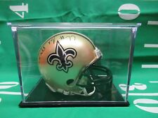 Willie Roaf New Orleans Saints Autographed Mini Football Helmet with COA
