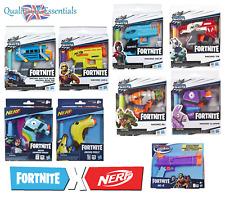 Nerf Elite Darts Gun Fortnite Microshots Blaster Kids Pistol Collectible Toys