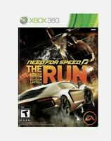 Need for Speed: The Run (Platinum Hits Microsoft Xbox 360, 2011) Factory Sealed