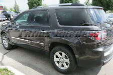07-16 GMC Acadia/09-17 Traverse 4Pc Chrome Flat Body Side Molding Trim 1/2""