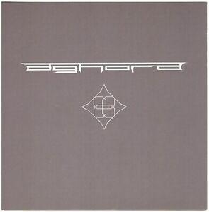 AGHORA s/t CD Prog Metal w/ Sean Malone (ex-Gordion Knot, Cynic)
