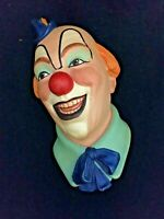 Legends Clown No.1 Signed Frank Wright 1983 Chalkware Vintage Bossons
