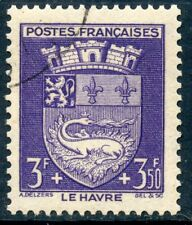 STAMP / TIMBRE FRANCE OBLITERE N° 561  BLASON / LE HAVRE