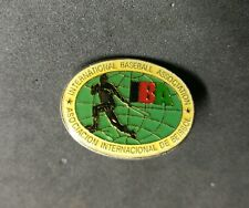 International baseball Association IBA Pin Badge