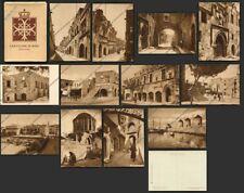 GREECE Aegean RODI 78 RHODES Ρόδος SERIE PRIMA 12 Cart. COLONIE FASCISMO - COVER