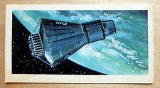 Brooke Bond RACE INTO SPACE card 8. Mercury spacecraft. Shepard, Glenn, Grissom.