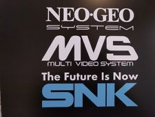 Arcade style Vinyl Decal Stickers NeoGeo MVS SNK Multi pack * Read description *