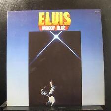Elvis Presley - Moody Blue LP Mint- AFL1-2428 Blue Translucent Vinyl Record