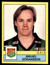 Panini Fotboll 91 (Sweden) Mikael Göransson GAIS No. 65