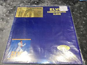 Elvis Presley Rare Double Gatefold Gold Vinyl Records Usa 1978