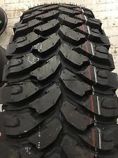 (4) New 33 12.50 20 Fullrun M/T 33x12.50-20 R20 10Ply Mud Tires 33 12.50 20