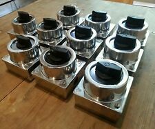 Dreh Schalter bakelit Rotary Switch Industrie Design AP Bauhaus Loft alu 1of4