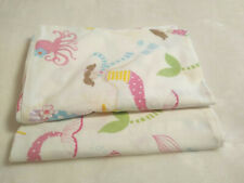 POTTERY BARN KIDS 2 STD PILLOW CASES MERMAID
