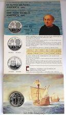 1992 Portugal 200 escudos moneda de plata BU Cristóbal Colón