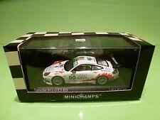 MINICHAMPS 1:43 PORSCHE 911 GT3 RSR - T2M No 90- 1000km SPA 2004 ICKX - MIB