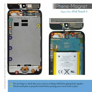 Phone-Magnet: Professional Magnetic Mat for Screws of the iPod Touch 4G