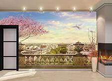 Panorama of Paris Wall Mural Photo Wallpaper GIANT DECOR Paper Poster Free Paste