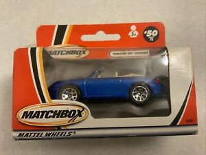 Matchbox Old Porsche 911 Carrera Cab Model