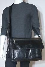 New! Fossil Vintage Leather Transit EW Messenger Bag MBG8233001 NWT $268.00