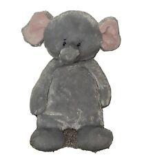 GANZ Pudding Pies Elephant Plush Stuffed Animal Gray Floppy Baby Toy Lovey