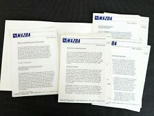 MAZDA RX-4 1300 RX-3 616 818 Prospekt Brochure Pressemappe 1975 46