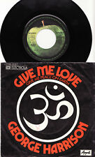 """GEORGE HARRISON - GIVE ME LOVE (GIVE ME PEACE ON EARTH) Very rare german 7"""" P/S!"""